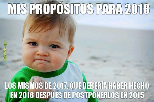 success kid año nuevo meme
